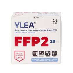 Boite de 20 masques FFP2 norme EN 149:2001+A1:2009