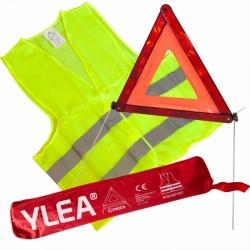 Kit sécurité auto (gilet + triangle)
